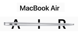 Nový MacBook Air.