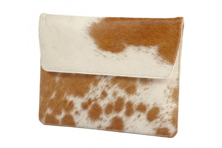 Leather Envelope for iPad Cow Hide