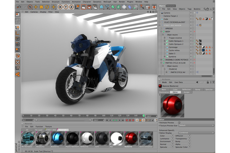 Cinema 4D R11.5 Win/Mac študent