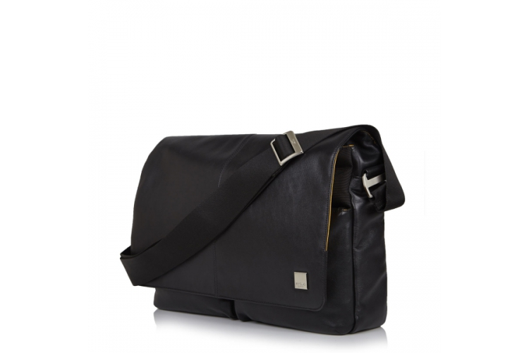 "KNOMO London Kobe Soft Messenger 15"" Black"