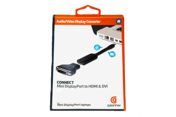 Griffin Connect Mini DisplayPort to HDMI/DVI