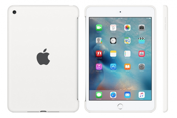 Apple iPad Mini 4 Silicone Case White