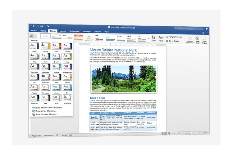 Microsoft Office Home & Business 2016 for Mac EN