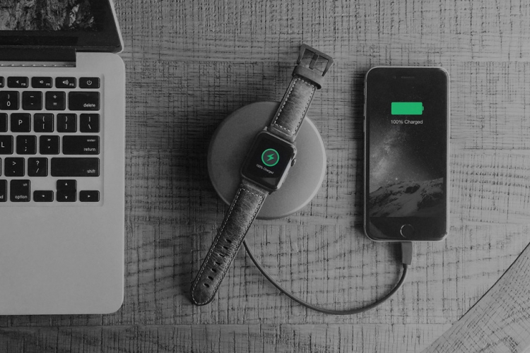 Nomad Pod for Apple Watch Space Grey