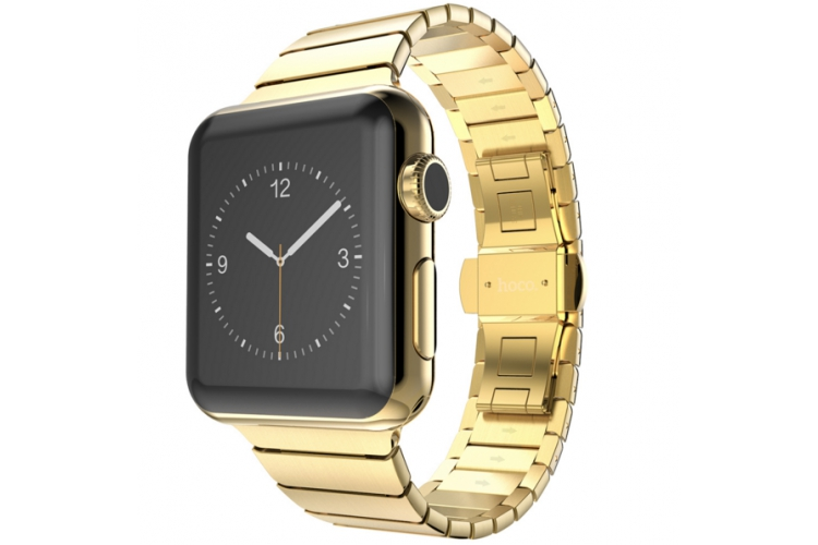Hoco Simple Edition 42mm Watch Gold
