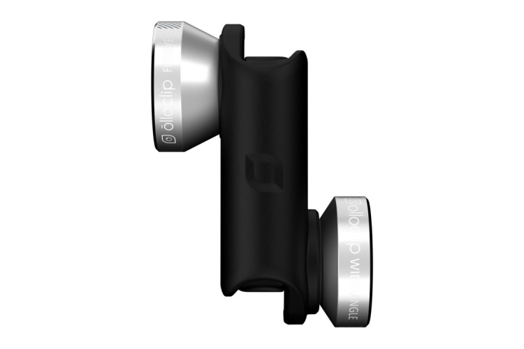 olloclip Lens System for iPhone 5/5S/SE silver/black