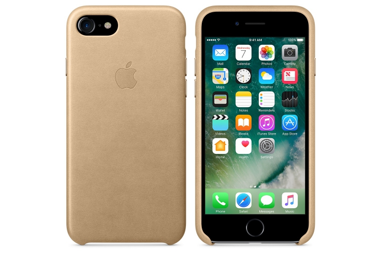 Apple iPhone 7 Leather Case Tan
