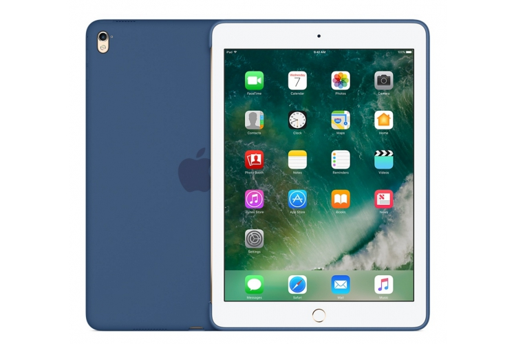 "Apple Silicone Case for iPad Pro 9.7"" Ocean Blue"