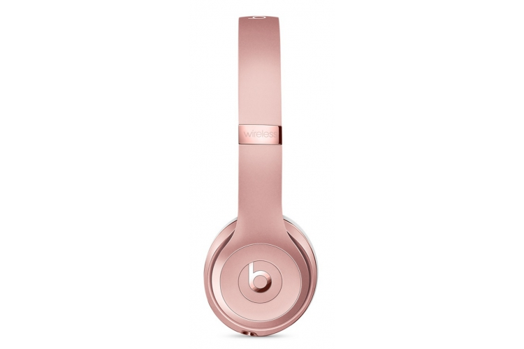 Beats by Dr.Dre Solo3 Wireless On-Ear Headphones Rose Gold