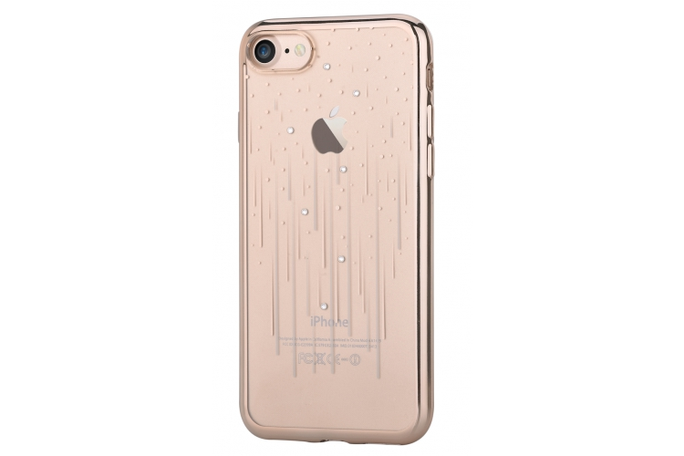 Obaly a púzdra iPhone Crystal Meteor iPhone 7 8 Champagne Gold ... 4ded3c41992