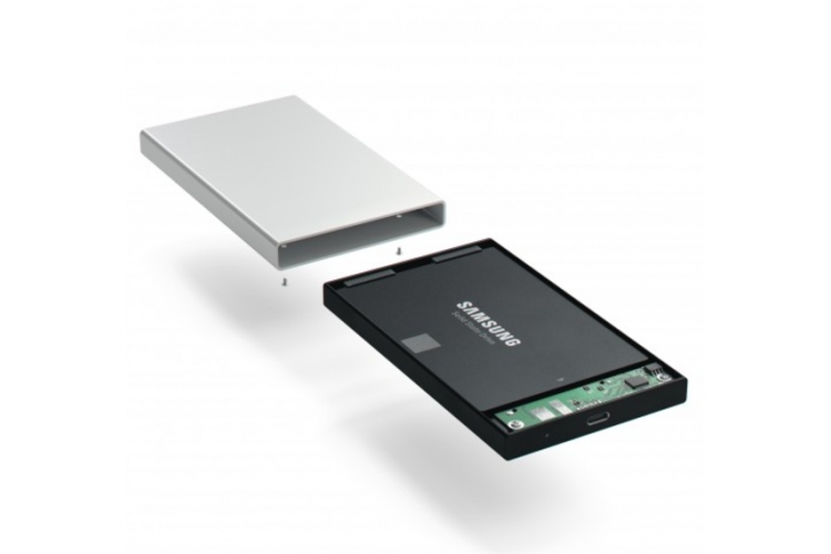 Satechi Aluminum TYPE-C HDD/SSD Enclosure Silver