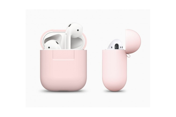 elago Airpods Protective Silicone Case Lovely Pink