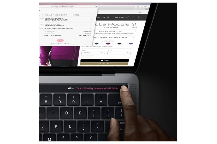 "Apple MacBook Pro 15"" Touch Bar&Touch ID"
