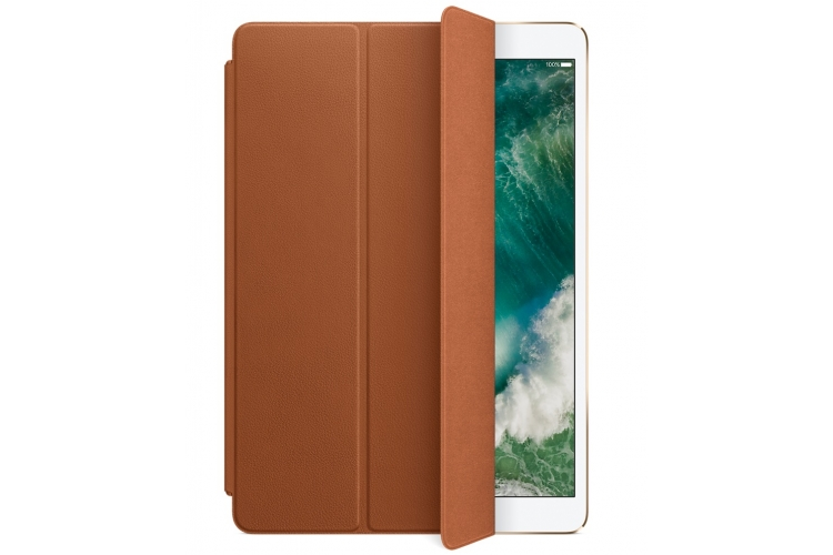 "Apple Leather Smart Cover iPad Pro 10.5"" Saddle Brown"