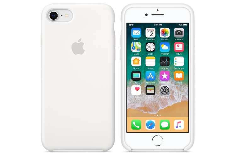 Apple iPhone 8 / 7 Silicone Case White