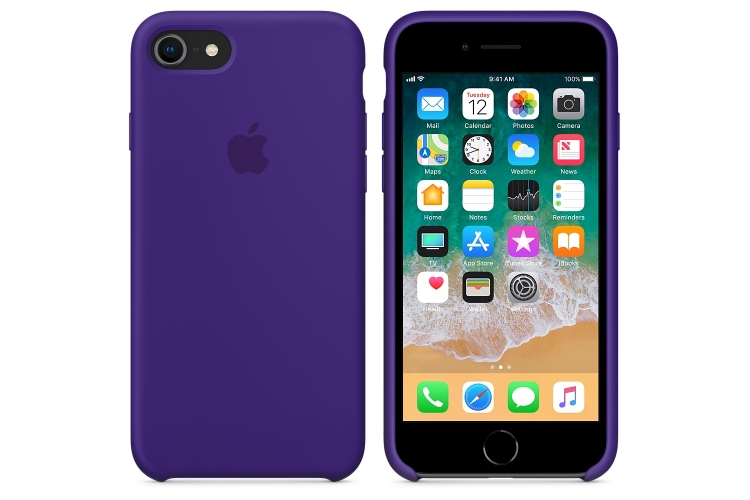 Apple iPhone 8 / 7 Silicone Case Ultra Violet