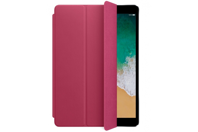 "Apple Leather Smart Cover iPad Pro 10.5"" Pink Fuchsia"