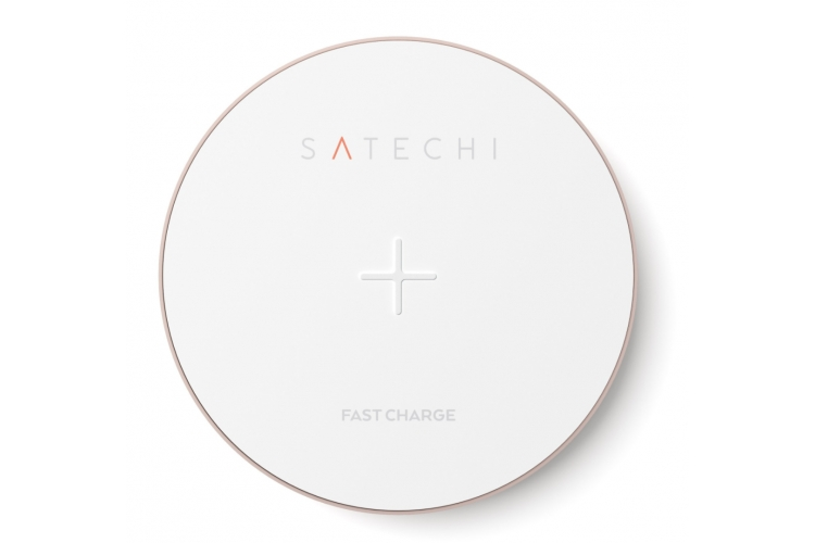 Satechi Qi Wireless Charging Pad Rose Gold