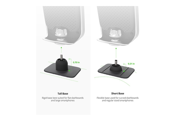 iOttie iTap Wireless Fast Charging Magnetic Mount