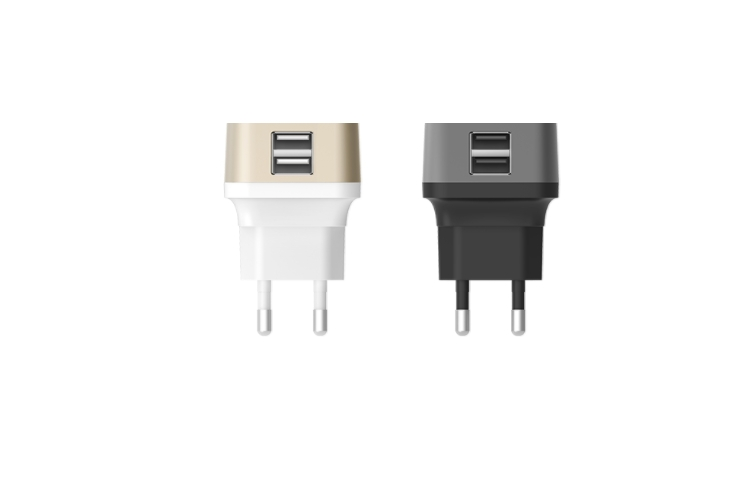Lab.C X2 USB Wall Charger 2.4 A Black/Grey