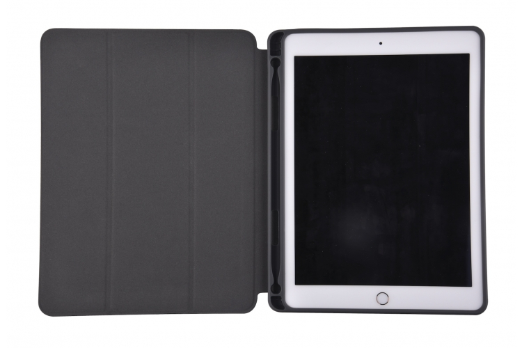 Comma Case with Pen holder iPad Blue