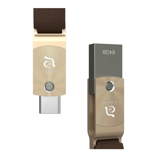 Adam Elements Roma 64GB Flash USB-C Gold