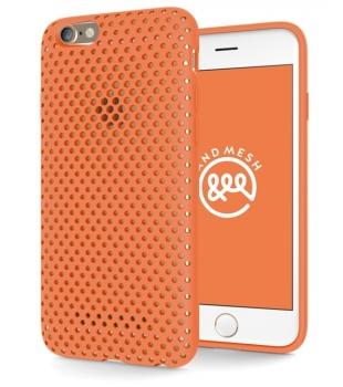 Výpredaj pre iPhone Mesh case for iPhone 6 6s Orange  3e021e80717