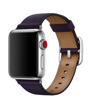 Apple 38mm Dark Aubergine Classic Buckle Otvorené