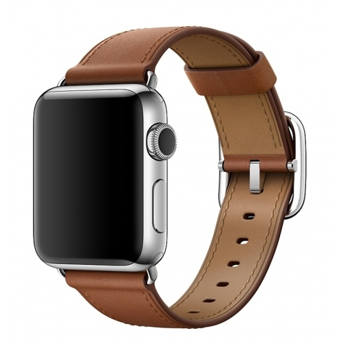 Apple 38mm Saddle Brown Classic Buckle
