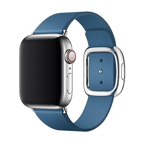 Apple 40mm Cape Cod Blue Modern Buckle Medium