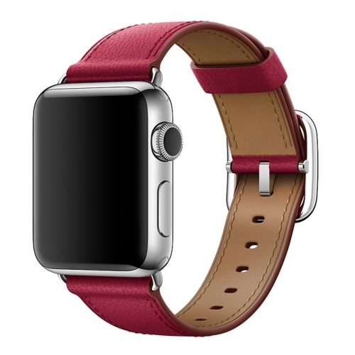 Apple 42mm Berry Classic Buckle Otvorené