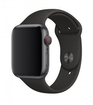 Apple 44mm Black Sport Band