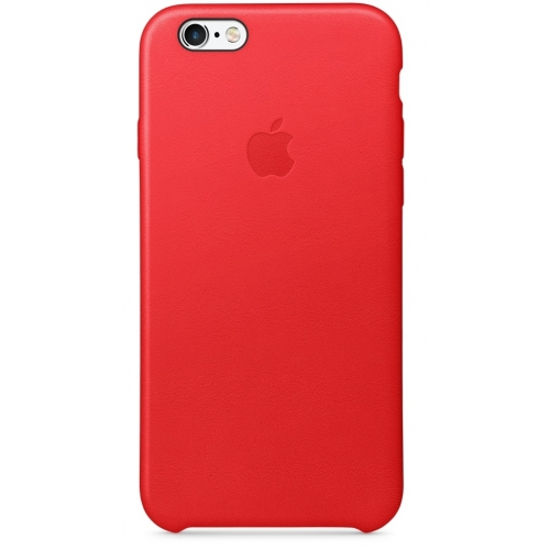 Apple iPhone 6s Leather Case Red