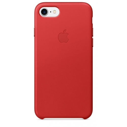 Apple iPhone 7 Leather Case Red