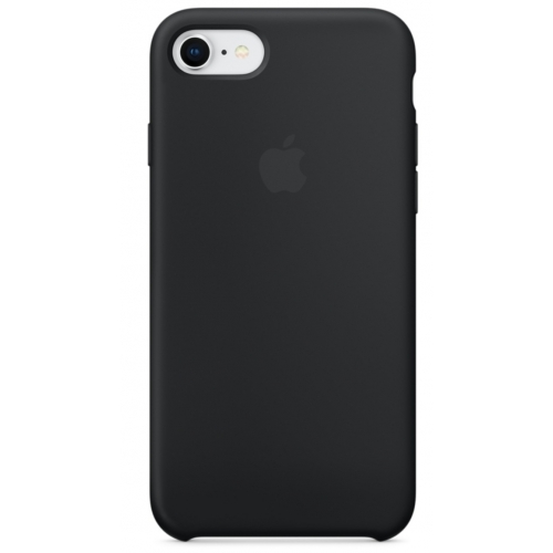 Apple iPhone 8 / 7 Silicone Case Black