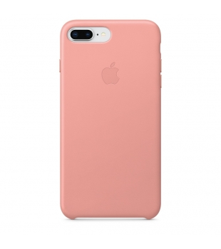 Apple iPhone 8 Plus / 7 Plus Leather Case Soft Pink