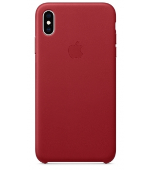 Obaly a púzdra iPhone iPhone XS Max Leather Case Red  21498581087