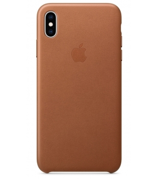 Obaly a púzdra iPhone iPhone XS Max Leather Case Saddle Brown ... 8d9f2d75f96