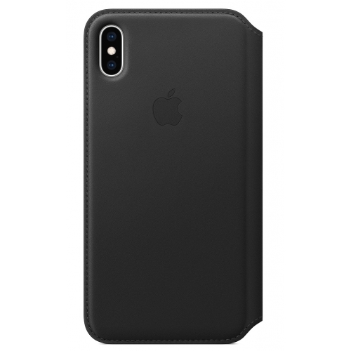 Apple iPhone XS Max Leather Folio Black