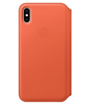 Apple iPhone XS Max Leather Folio Sunset