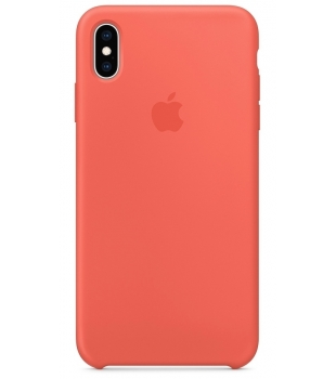 Obaly a púzdra iPhone iPhone XS Max Silicone Case Nectarine  1373f80461b