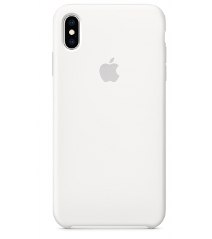 Obaly a púzdra iPhone iPhone XS Max Silicone Case White  7f21ae29ccb