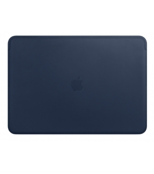 "Apple Leather Sleeve for 15"" MacBook Pro Midnight Blue"