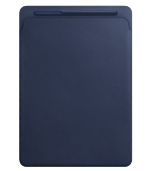 "Apple Leather Sleeve iPad Pro 12.9""(2.gen) Midnight Blue"