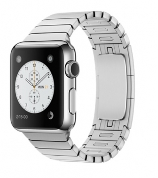 Apple Watch 38mm Stainless Steel with Link Braclet