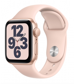 Apple Watch SE GPS 40mm Gold Aluminium with Pink Sand Sport Band