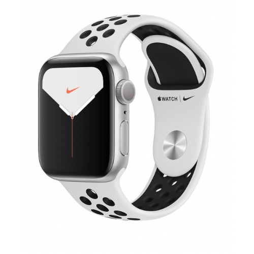 Apple Watch Series 5 GPS Nike+ 40mm Silver Aluminium Case with Pure Platinum/Black Nike Sport Band