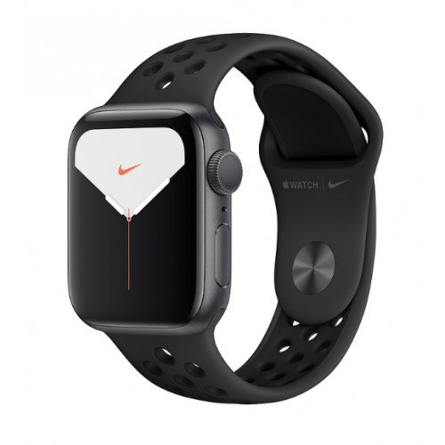 Apple Watch Series 5 GPS Nike+ 40mm Space Grey Aluminium Case with Anthracite/Black Nike Sport Band