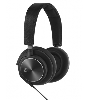 B&O Play BeoPlay H6 Headphones Black Leather