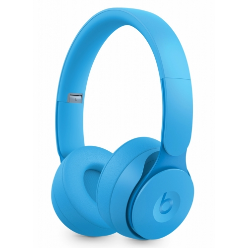 Beats Solo Pro Wireless Noise Canceling Headphones More Matte Collection Light Blue
